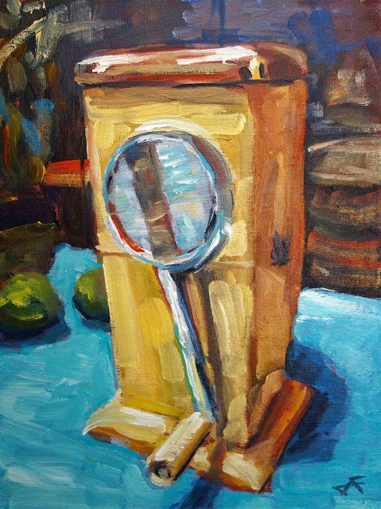 """Ice-O-Mat"" original fine art by J. Farnsworth"