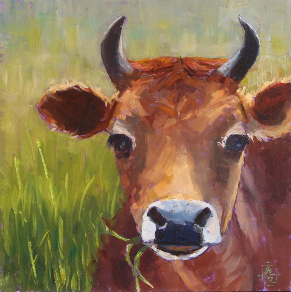 """MUNCH!"" original fine art by Carol Granger"
