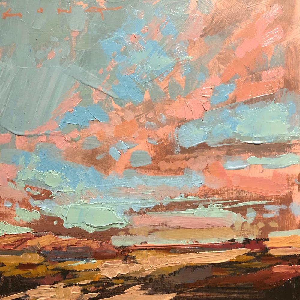 """Joshua Tree NP No.9"" original fine art by Christopher Long"