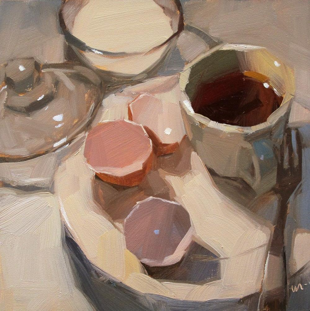 """Eggless"" original fine art by Carol Marine"