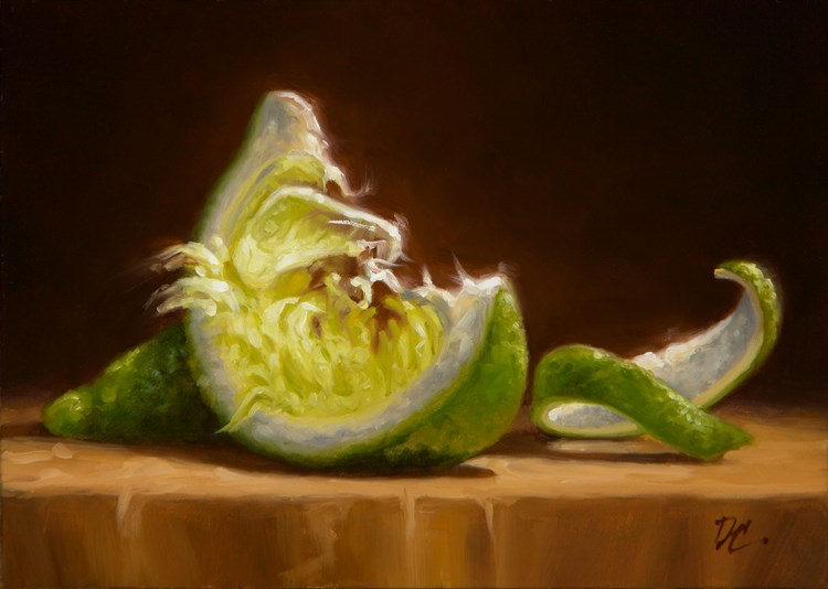 """""""A Wedge, A Squeeze And A Twist"""" original fine art by David Capalungan"""