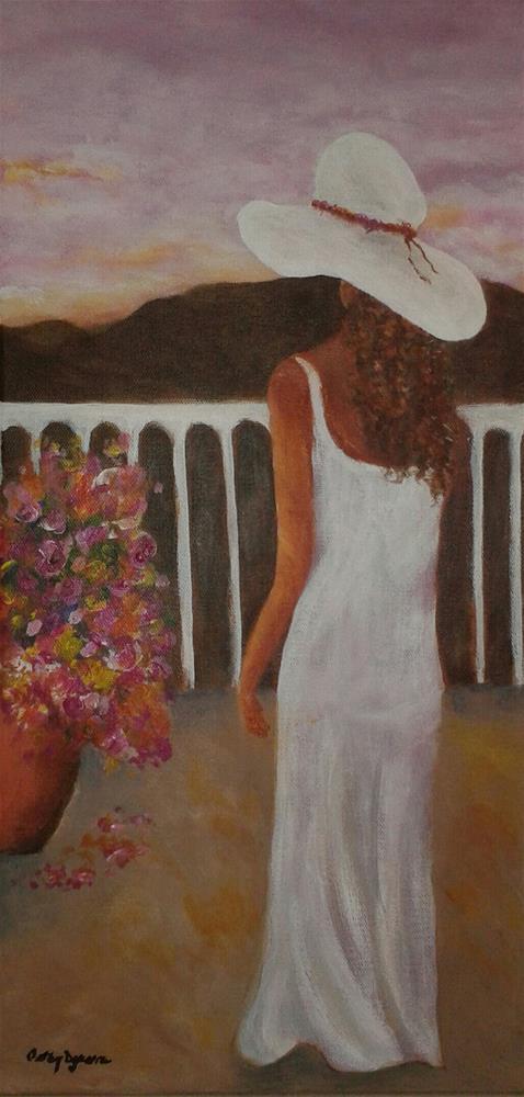 """Life is Good"" original fine art by Cathy Dykstra"
