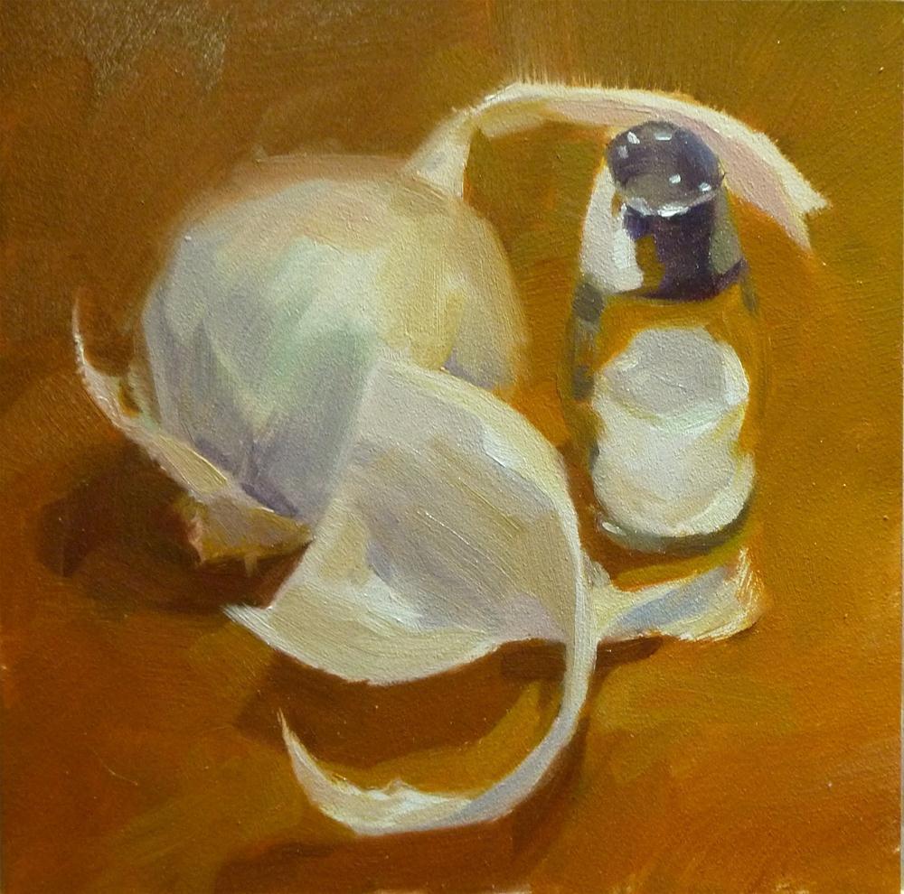 """""""Onion Skin"""" original fine art by Ron Ferkol"""