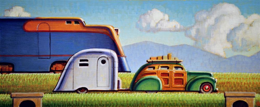 """""""Traveler"""" original fine art by Robert LaDuke"""