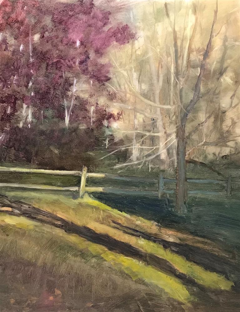 """sunshine and shadows"" original fine art by Betty Argiros"