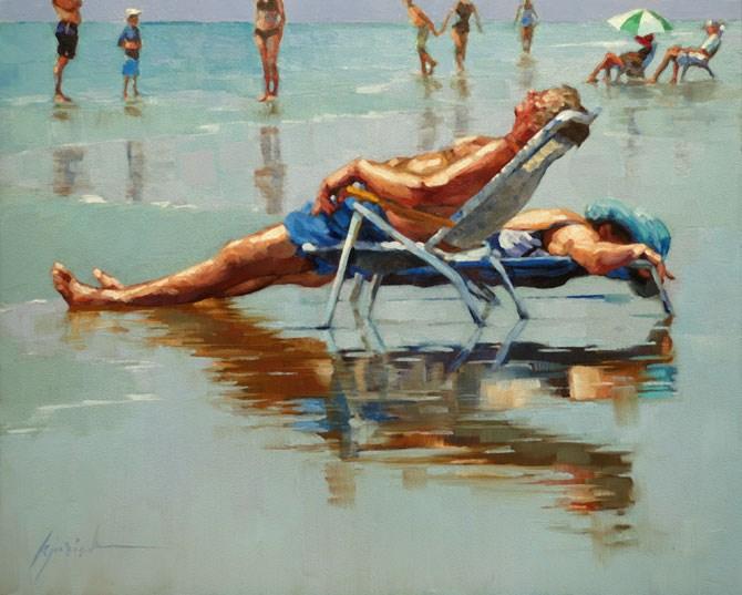 """Melting"" original fine art by Karin Jurick"