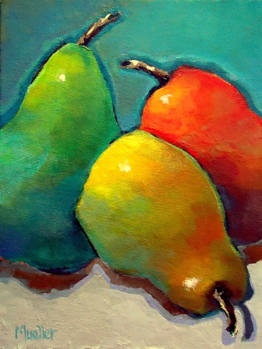 """""""Dare to be Different"""" original fine art by Laurie Mueller"""