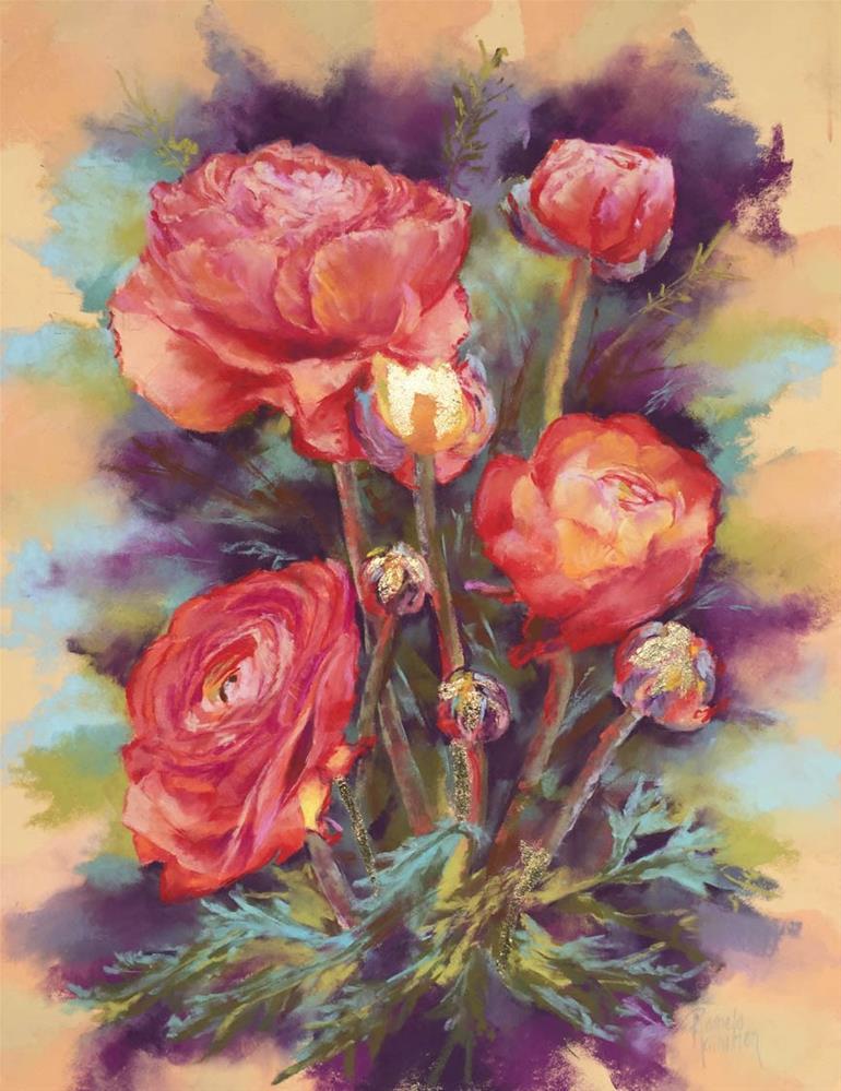 """Blooming Profusion"" original fine art by Pamela Hamilton"