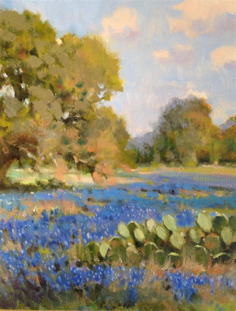 """Deep Blues"" original fine art by David Forks"