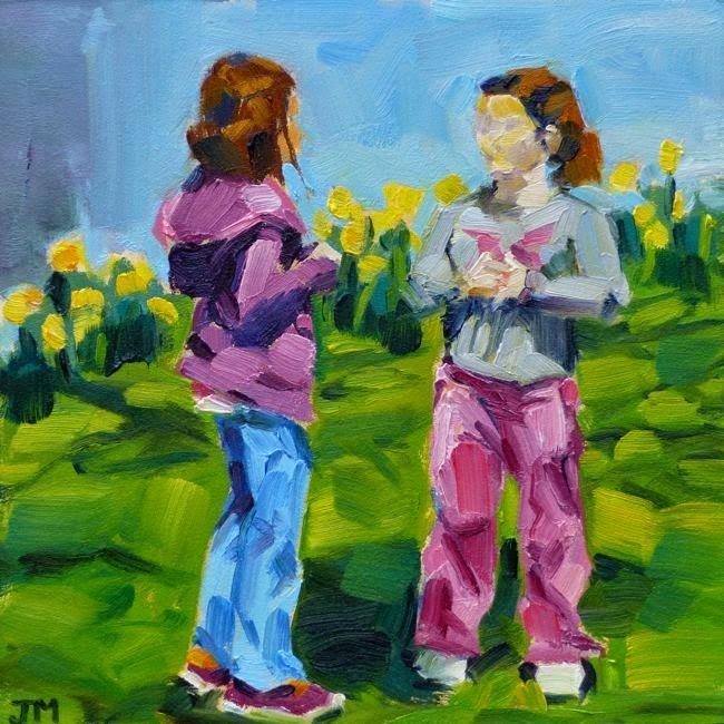 """Earth Day"" original fine art by Jessica Miller"