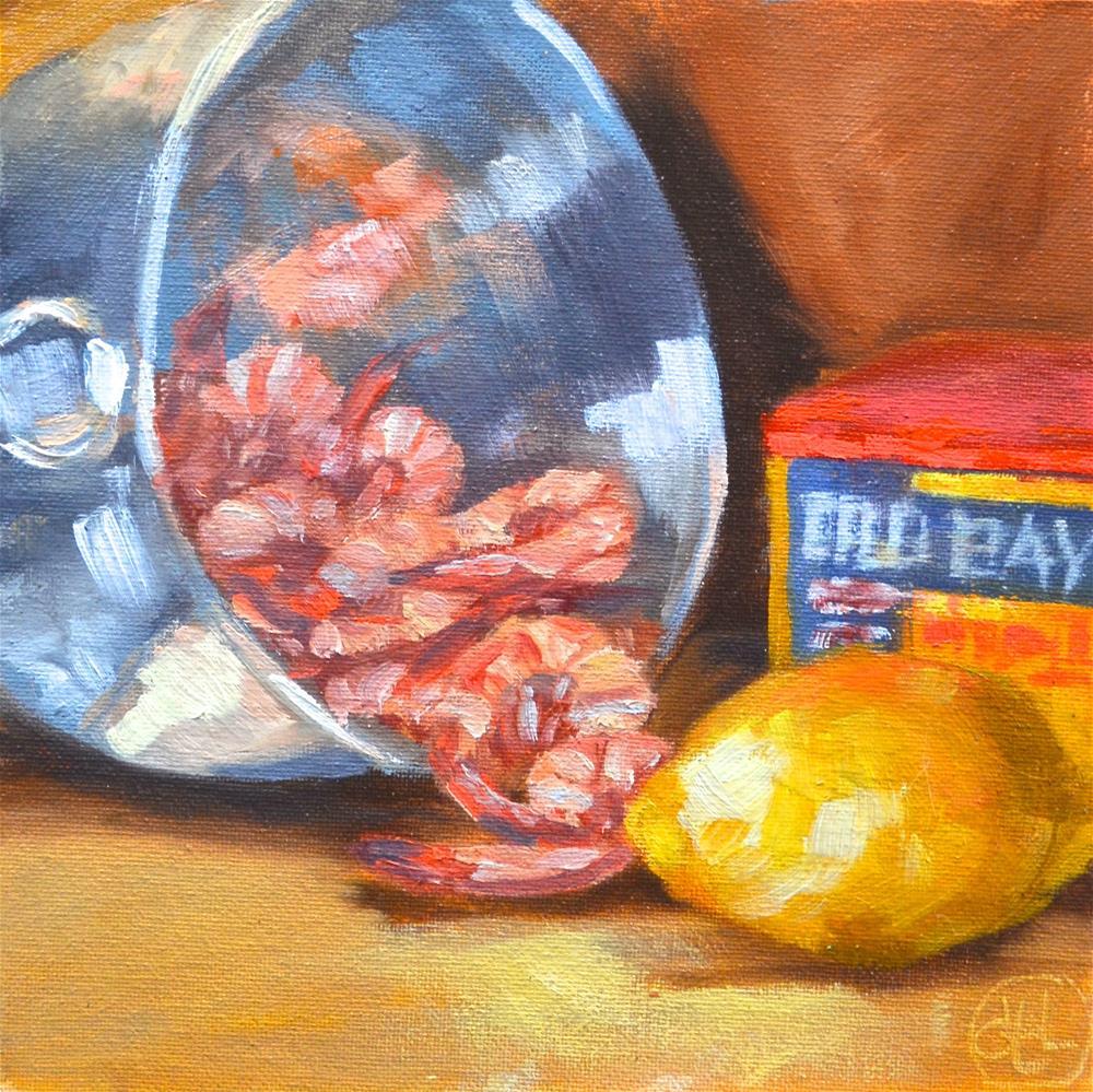 """fruit of the sea"" original fine art by Dottie  T  Leatherwood"
