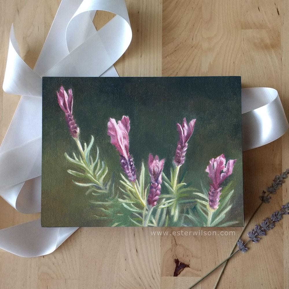 """Lavender"" original fine art by Ester Wilson"