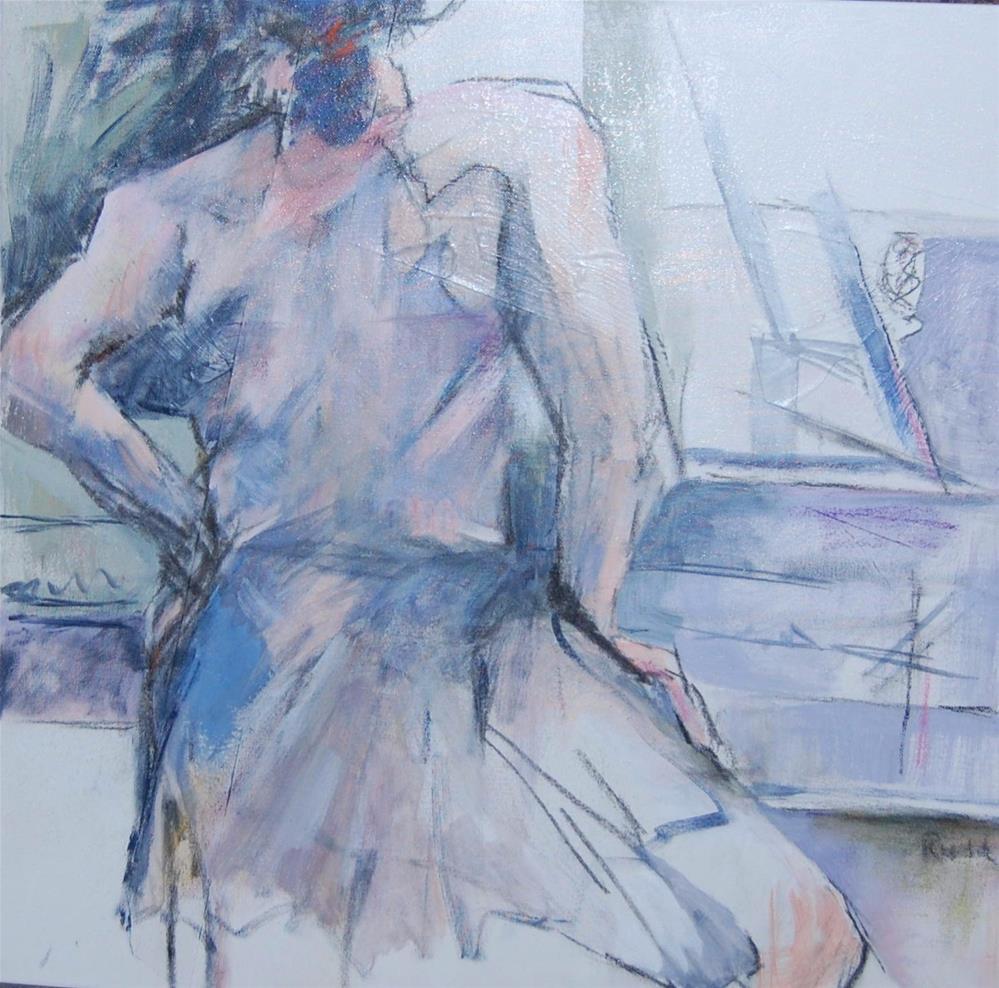 """""""Ballerina #7"""" original fine art by Ann Rudd"""
