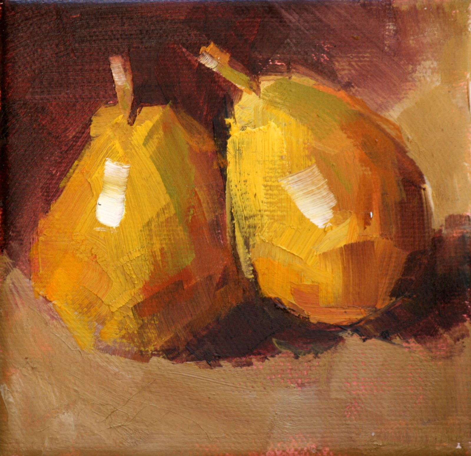 """little joe"" original fine art by Carol Carmichael"