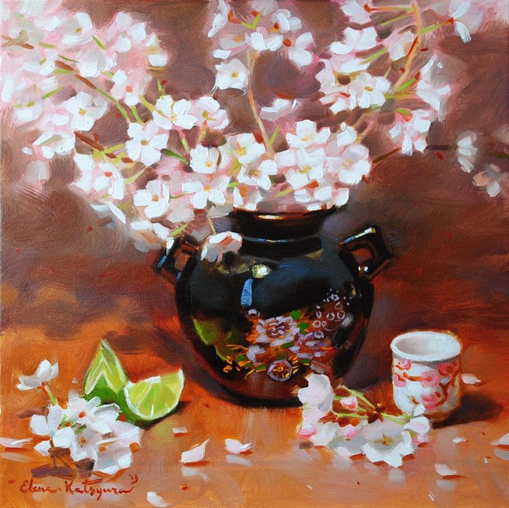 """Spring is Here"" original fine art by Elena Katsyura"