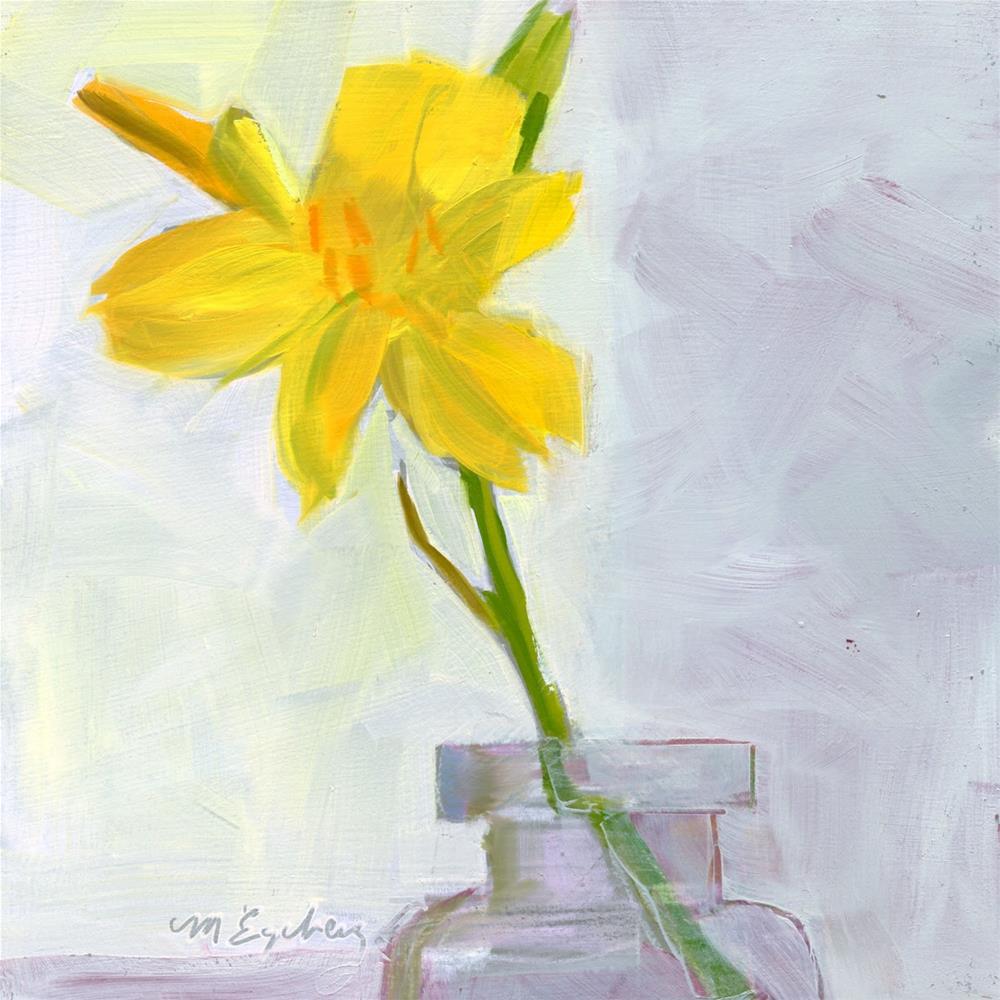 """Blossom One"" original fine art by Mitch Egeberg"