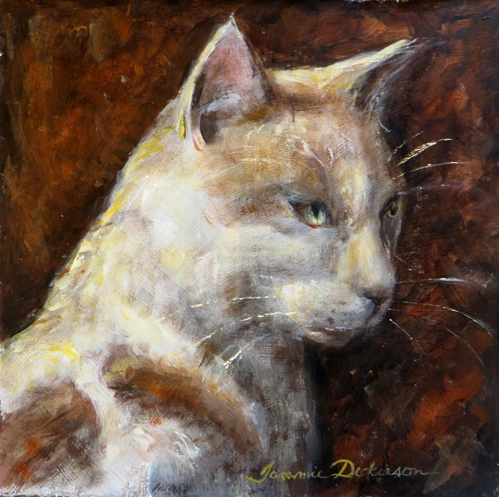"""""""Brother Cat II"""" original fine art by Tammie Dickerson"""