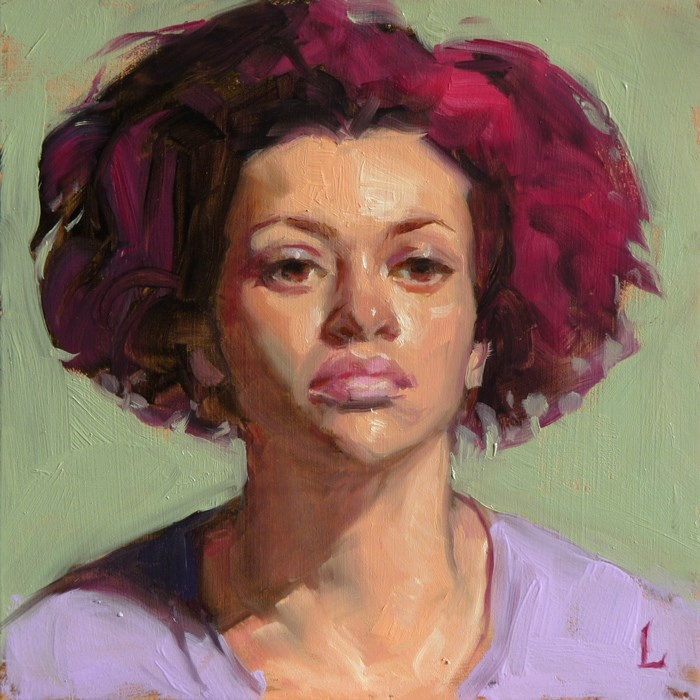 """Elipse"" original fine art by John Larriva"