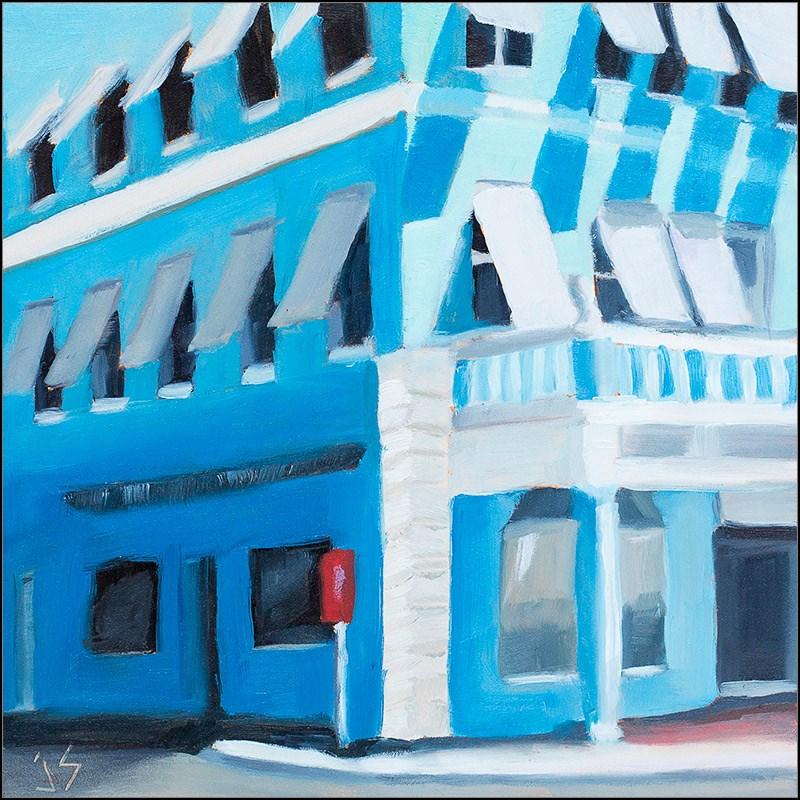 """Vacation Hamilton Bermuda"" original fine art by Johnna Schelling"