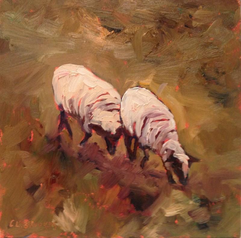 """Quit Pushin', Day 67"" original fine art by Claudia L Brookes"