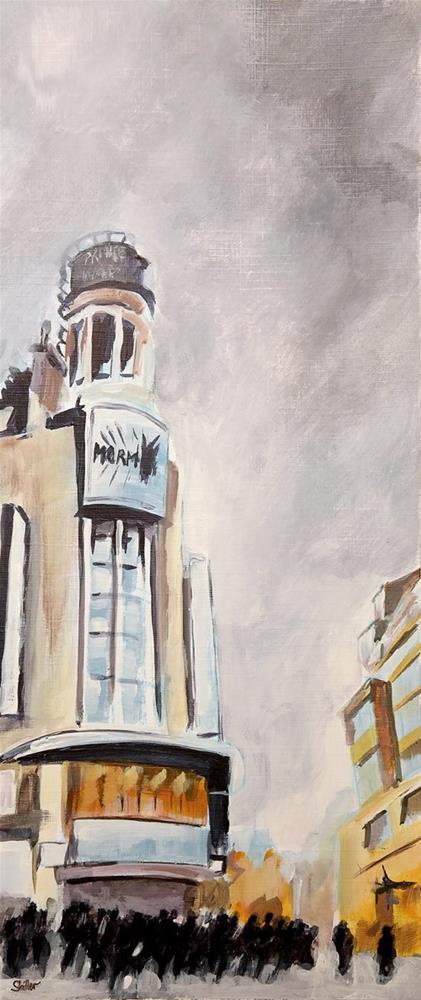 """""""2717 London City 3"""" original fine art by Dietmar Stiller"""