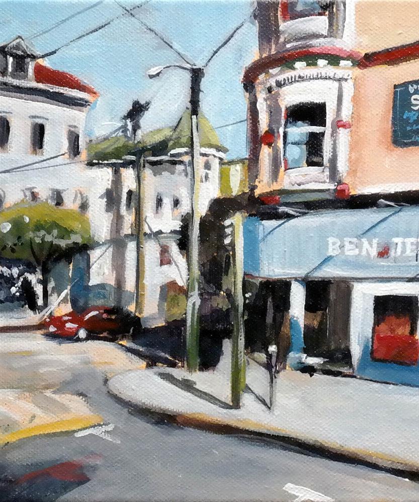 """1326 Ashbury middle"" original fine art by Dietmar Stiller"