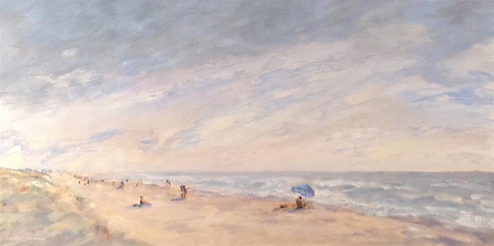 """Thinking Summer"" original fine art by Shelley Koopmann"