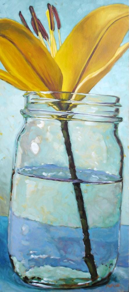 """Day Lily"" original fine art by Carol Marine"