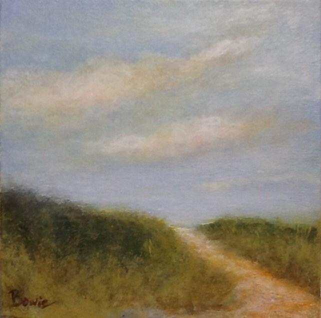 """Over the Dune"" original fine art by Maureen Bowie"