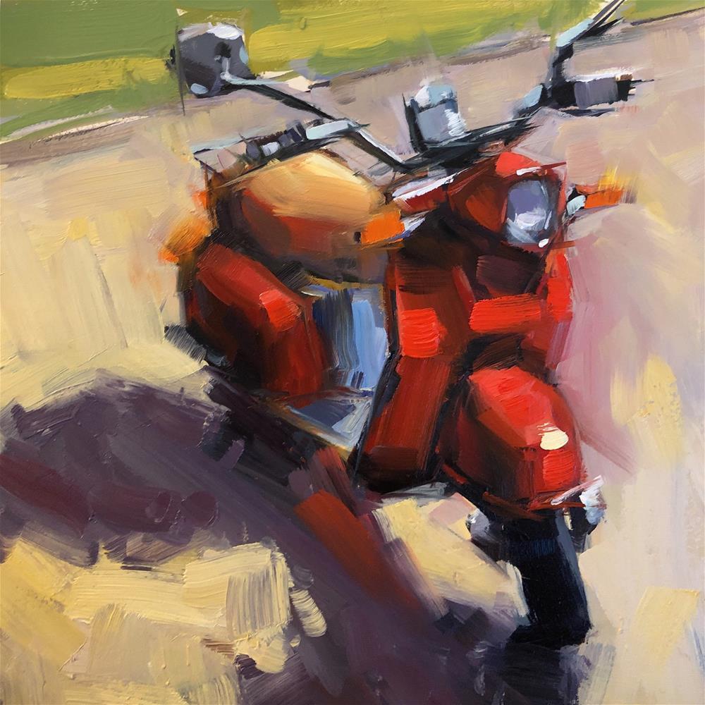 """Hot Shadows"" original fine art by Cathleen Rehfeld"