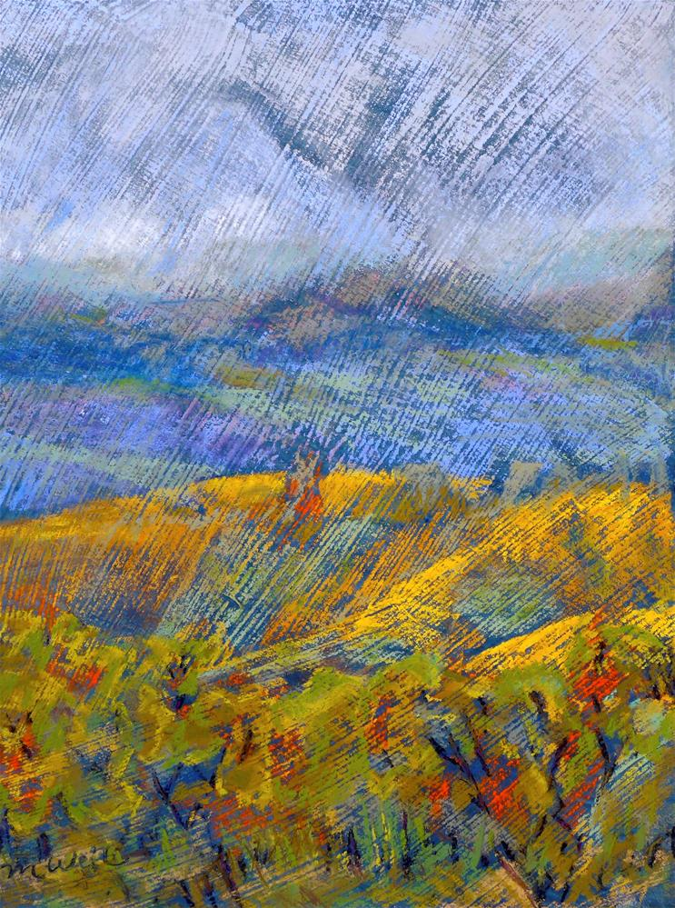 """""""Dundee Fall"""" original fine art by Mary Weil"""