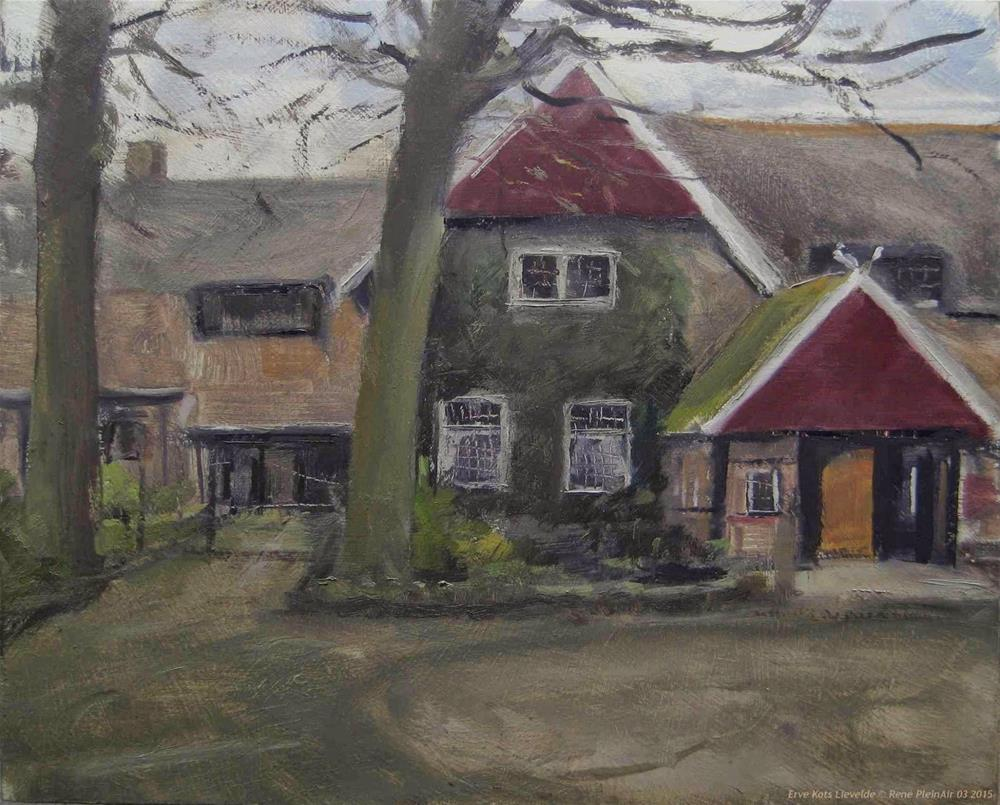 """Erve Kots Lievelde The Netherlands"" original fine art by René PleinAir"