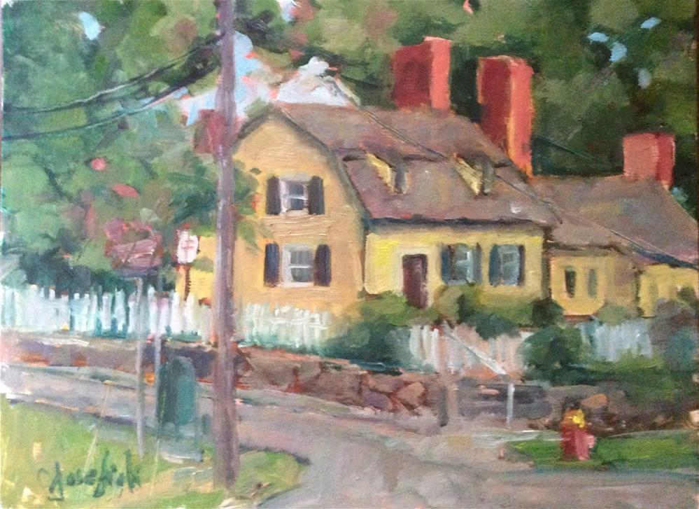 """St. James"" original fine art by Carol Josefiak"