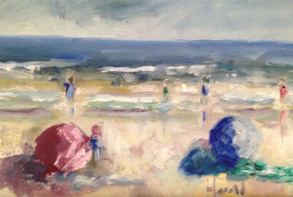 """California Dreamin"" original fine art by Deborah Harold"