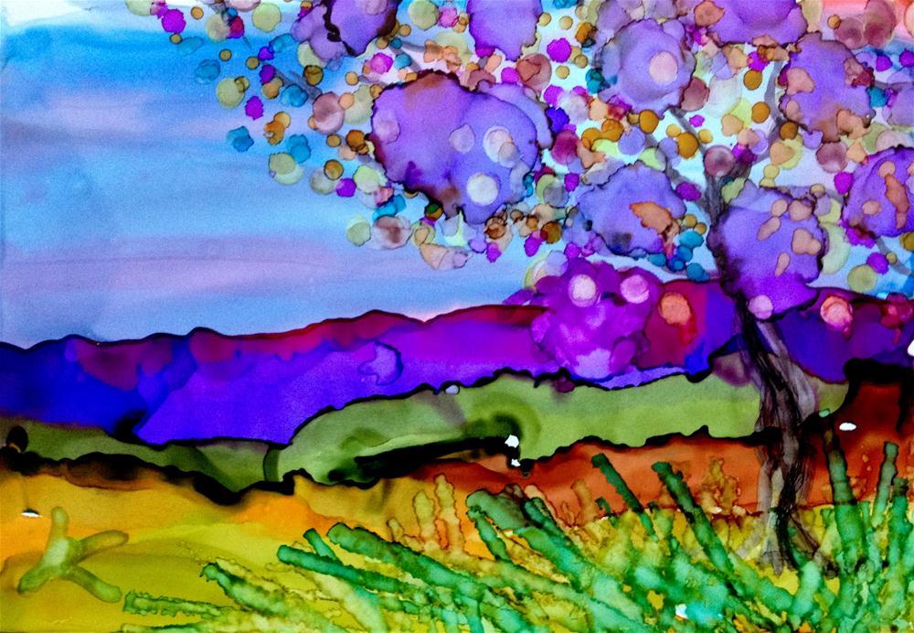 """Mountains Majesty"" original fine art by Kristen Dukat"