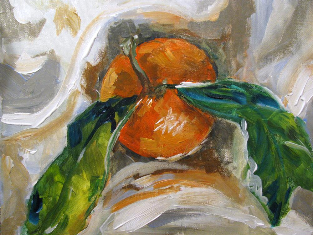 """Satsuma"" original fine art by Susan Elizabeth Jones"