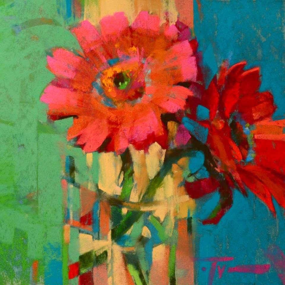 """""""Sassy Siblings"""" original fine art by Jennifer Evenhus"""