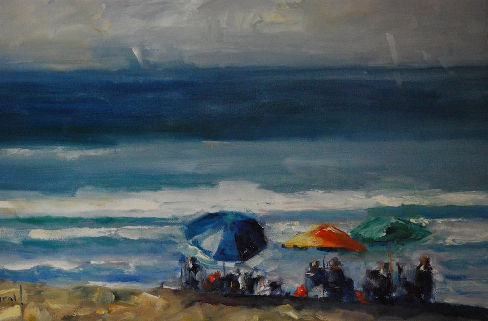 """Newport Beach"" original fine art by Deborah Harold"