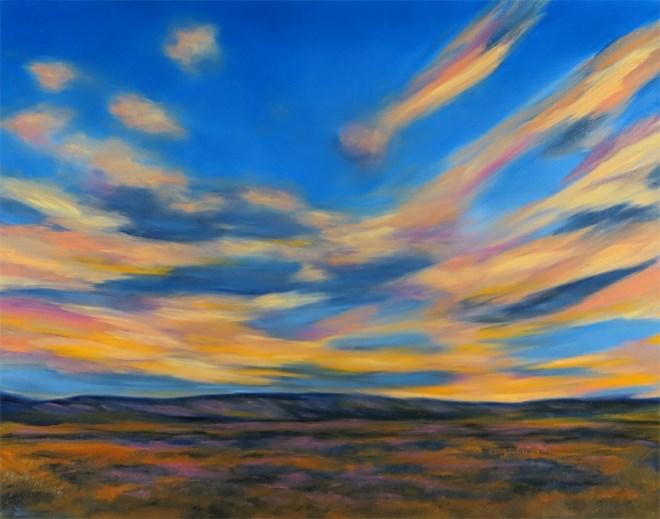 """Great Balls of Fire"" original fine art by Carol Zirkle"