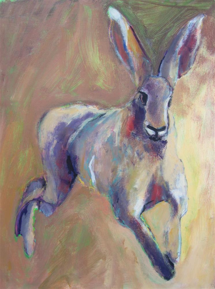 """Jack"" original fine art by Patricia MacDonald"
