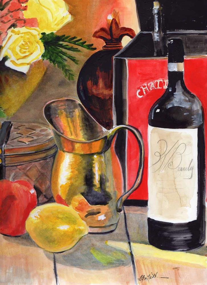"""""""Still Life with Copper Pot"""" original fine art by Bunny Griffeth"""