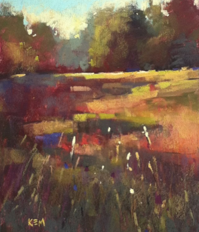 """""""A Day in the Life of a Plein Air Painter"""" original fine art by Karen Margulis"""