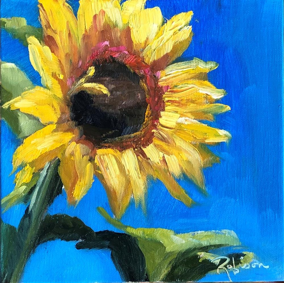 """Facing the Sun"" original fine art by Renee Robison"