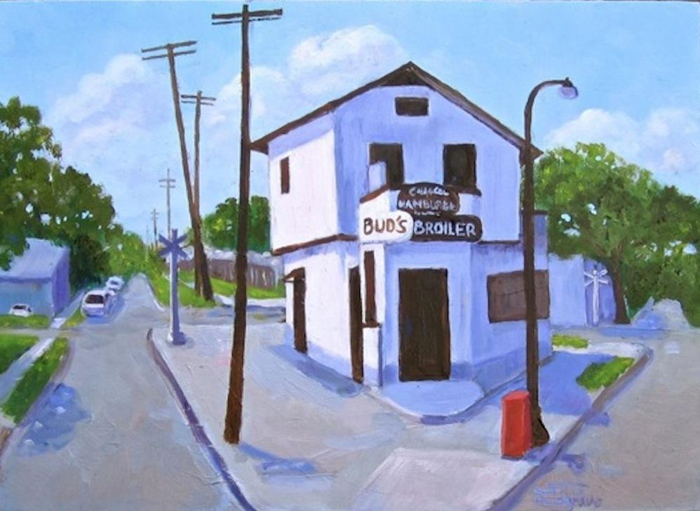 """Bud's Broiler"" original fine art by Patricia Musgrave"