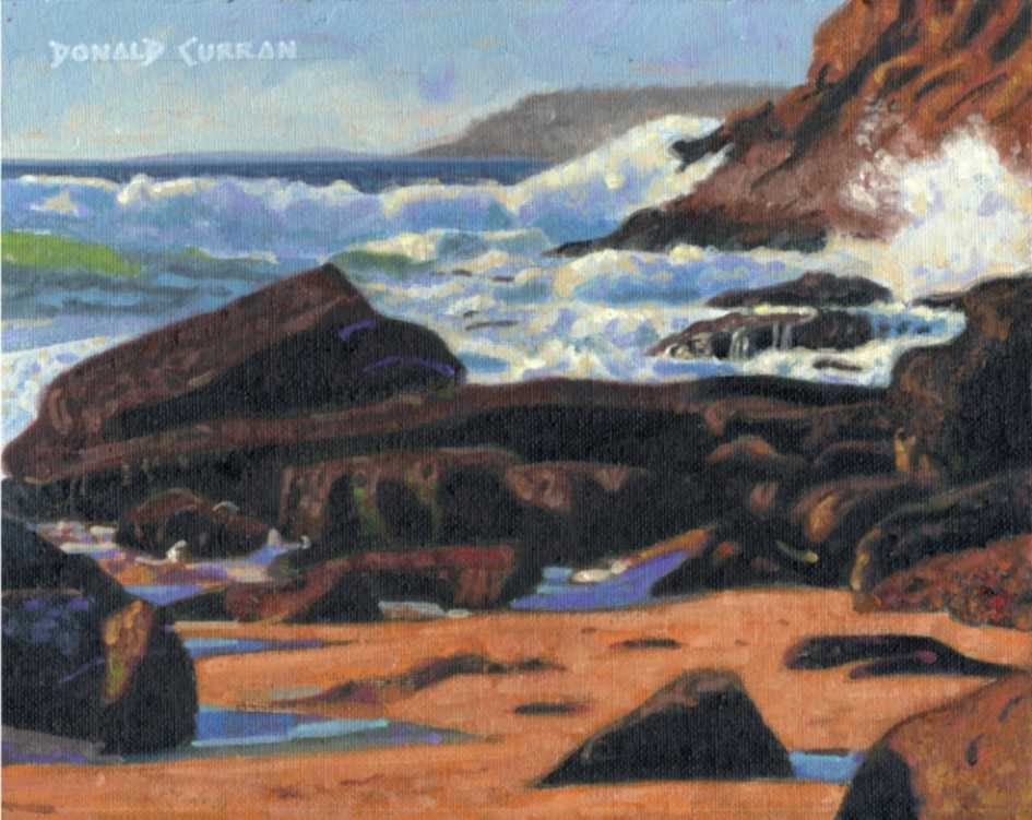 """Big Sur"" original fine art by Donald Curran"