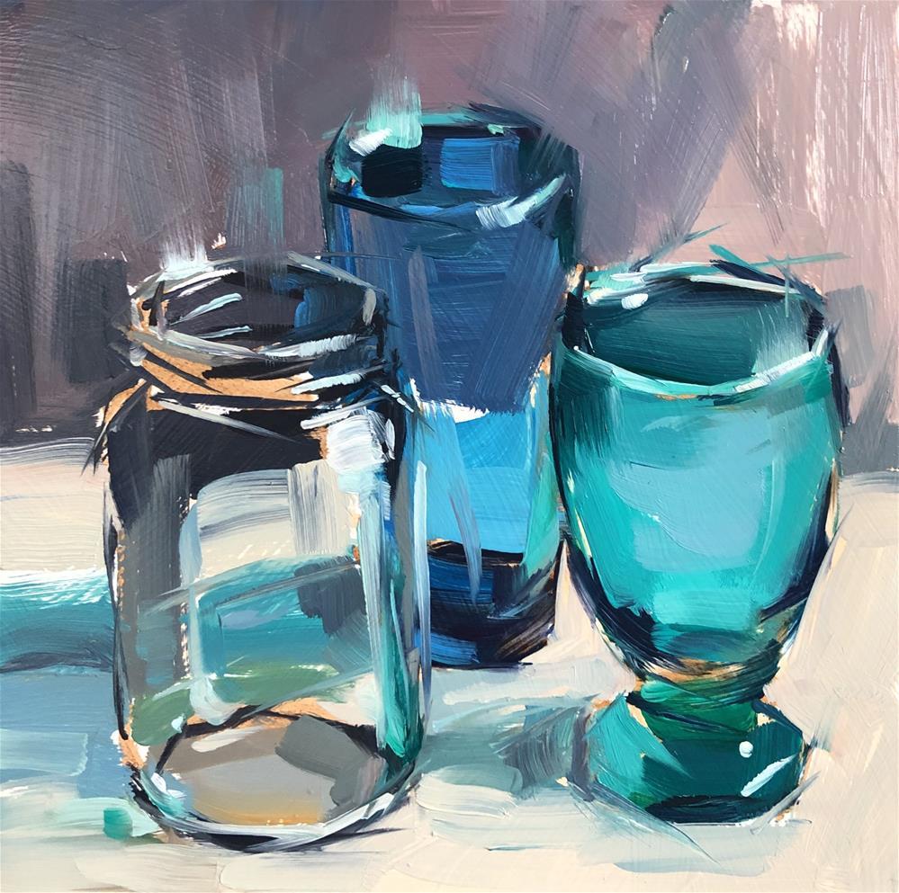 """Heard It Through The Grapevine"" original fine art by Cathleen Rehfeld"