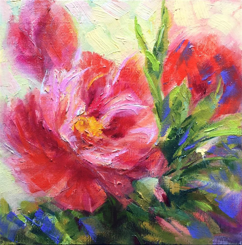 """Springtime "" original fine art by Charlotte Fitzgerald"