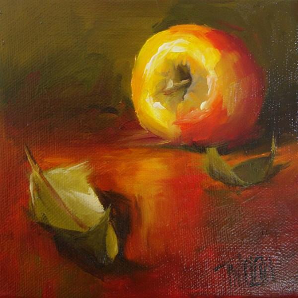 """Apple 2"" original fine art by Lori Twiggs"
