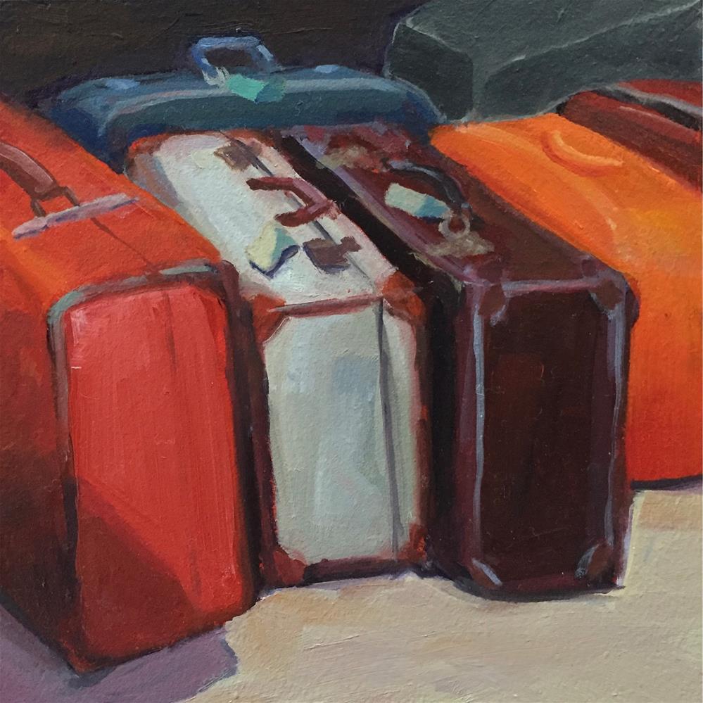 """Traveling Light"" original fine art by Lisa Sotero"