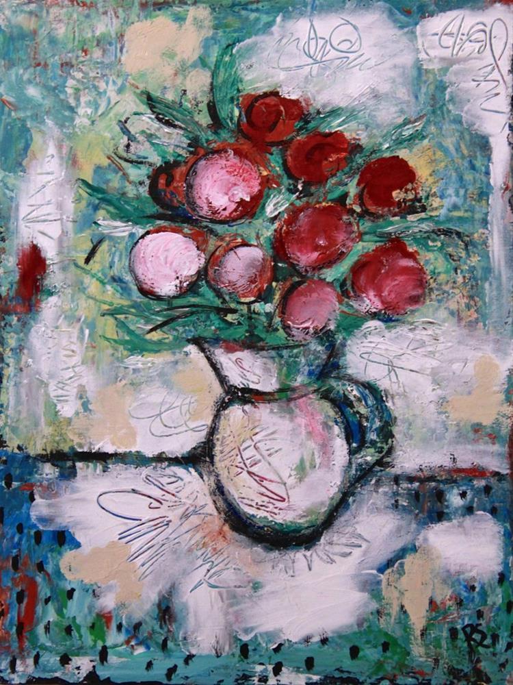"""Winter Bouquet"" original fine art by Roberta Schmidt ArtcyLucy"